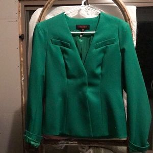 Escada size 36 blazer Small Green